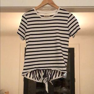 Tie back madewell top